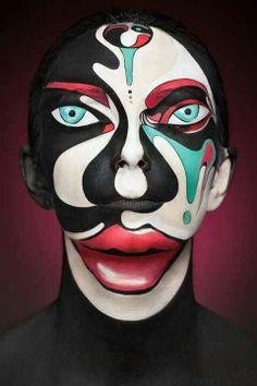 Face paint art