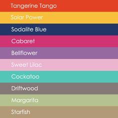 98ac92fa2c163d Pantone Spring 2012 Pantone Colour Palettes
