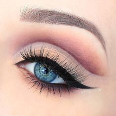 Soft #cutcrease makeup by @polineja using our Warm Neutrals Eyeshadow Palette & Wicked Gel Liner. // #eyemakeup #SigmaBeauty
