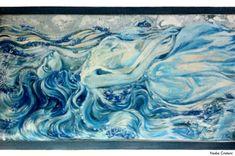 Nadia Cristoni, «La canzone di Marinella», 2016. Opera finalista della XV edizione del Premio Fabrizio De André «Parlare Musica» - Premio sezione Pittura. Opera, Night, Artwork, Musica, Work Of Art, Opera House, Auguste Rodin Artwork, Artworks, Illustrators