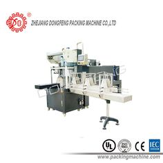Automatic sleeve shrinking wrapper