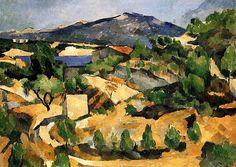 Mountains in Provence (near L'Estaque) Paul Cezanne - circa 1879