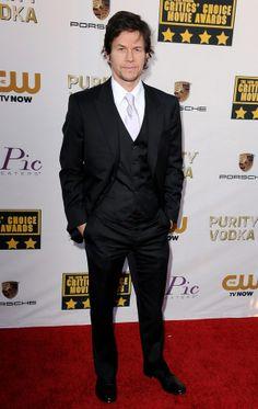 Mark Wahlberg attends the19th Annual Critics' Choice Movie Awards at Barker Hangar on January 16, 2014 in Santa Monica, California.