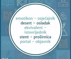 Croatian Language, Classroom Management, Chart, Personalized Items