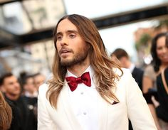 Get ready to swoon: The 10 best male celebrity hairstyles, from braids to buns to blowouts // Jared Leto
