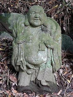 Hotei - God of Contentment and Happiness; Japanese Buddhism Photo Dictionary Project.