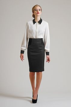 Long Sleeves Professional Business Women Office Attire
