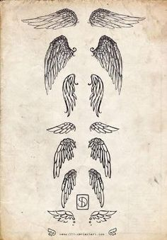 Angel wings tattoo   Tattoo Ideas Central by TodGod