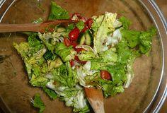 Einen schnellen Salat gab es bei der Saisongärtnerin abends.  http://saisongaertnerin.blogspot.de/2014/11/vegan-wednesday-der-116te.html