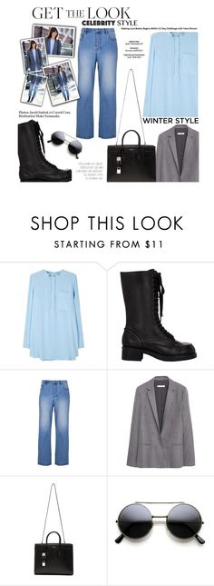 """""""Get the Look: Winter Edition"""" by zayngirl1dlove ❤ liked on Polyvore featuring Sportmax, Jil Sander Navy, TIBI, MANGO, Yves Saint Laurent, women's clothing, women's fashion, women, female and woman"""