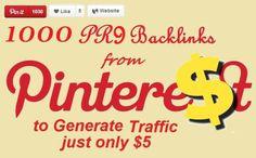 zipswork: give 1000 #PR9 #Pinterest #Backlinks on Your Site for $5 | #repin, #socialpromotion