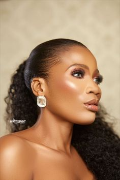 On your special day, it is our joy to make you look the most beautiful. We offer a more neutral looking yet Glamorous makeover for White weddings and Engagement. We also specialize on Airbrush Makeup that makes you look exceptionally beautiful. Book us now. BossQueensOnlyPlease . . . #GhanamakeupArtist #BridalMakeupArtistghana #Accramakeupartist #vendajules #makeupartistinghana #BOSSQUEENSONLYPLEASE #Spintexmakeupartist #Ghanamua Pearl Earrings, Pearls, Jewelry, Fashion, Moda, Pearl Studs, Jewlery, Jewerly, Fashion Styles