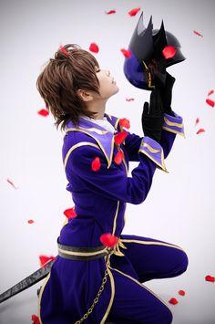 root(√) Suzaku Kururugi Cosplay Photo - WorldCosplay