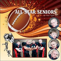 All-Star Football Photo Book, Football Fantastic Theme; photo gallery.com