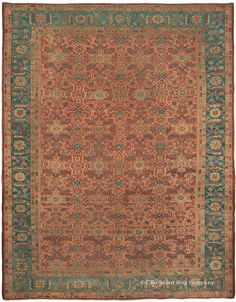 SULTANABAD, West Central Persian 9ft 4in x 12ft 0in Late 19th Century