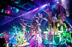 Giant Fembots Dance With Dinosaurs in the Weirdest Show on Earth   Wired Business   Wired.com robot restaurant tokyo