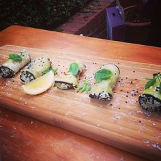 Grilled aubergine rolls stuffed with ricotta pesto. SIMPLE FRESH AND TASTY VEGO DISH: make sure to subscribe!!! For the recipe click on the link: https://m.youtube.com/watch?v=pmZnF0ha0aE&list=UUzVd4IHMnuE1n1DD3luJEXw