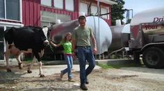 Farm To You: The Story of Milk; Must Be The Milk YouTube page has TONS of awesome videos about dairy.