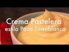 ▶ Crema Pastelera estilo Paco Torreblanca - Mi Receta Favorita - YouTube