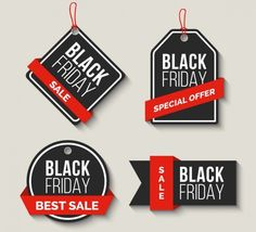 Pack Of Black Friday Sale Labels With Red Ribbons Free - packung black friday sale-etiketten mit roten bändern gratis Pack Of Black Friday Sale Labels With Red Ribbons Free - Black Friday Deals Online, Black Friday Ads, Best Black Friday, Black Friday Shopping, Free Friday, Graphic Design Templates, Sale Banner, Printing Labels, Black Friday