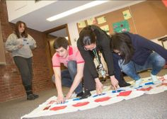 Students in Intro to Psychology spent time playing in class, to think about how each game or toy can help children improve their physical, cognitive, and social development.