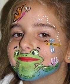 Akzente für den Frosch einsetzen