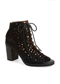32ad4ad865d Jeffrey Campbell  Cors Daisy  Sandal suede black NA. Sara · Shoes
