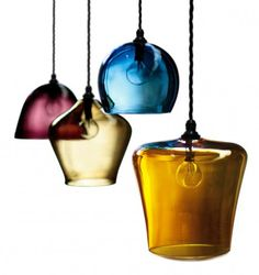 Glass Pendants | Curiousa & Curiousa £220 (small) £240 medium