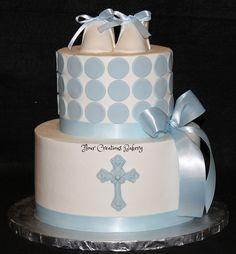 Christening Cake   Baptism Cake for Trenton   Carol Essick   Flickr