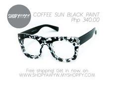 Coffee Sun Black Paint Php 340.00 on #ShopYAWYW free shipping Cat Eye Sunglasses, Free Shipping, Coffee, Painting, Shopping, Black, Kaffee, Black People, Painting Art