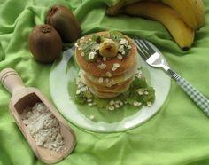 pancake avena e albumi
