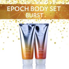 #EpochBurst set #bodybath #bodylotion  #energizing #invigorating #pamperyourskin