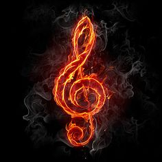 Fire treble clef - Buy this stock photo and explore similar images at Adobe Stock Smoke Wallpaper, Music Wallpaper, Dark Wallpaper, Galaxy Wallpaper, Wallpaper Backgrounds, Music Drawings, Music Artwork, Musik Illustration, Flame Art