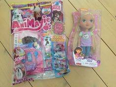 Tattooed Mummy's Randoms: Dora the Explorer Doll - A Giveaway