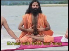 The best pranayama video I've seen. ♥ Pranayama - Baba Ramdev Follow us on Facebook: http://on.fb.me/17QW32X