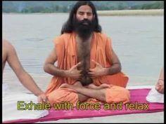 The best pranayama video I've seen. ♥ Pranayama - Baba Ramdev Follow us on Facebook: http://on.fb.me/17QW32X