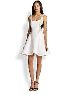 Designer Clothes, Shoes & Bags for Women Pretty Dresses, Dresses For Work, Formal Dresses, Polo Classic, Womens Cocktail Dresses, Alice Olivia, Flare Dress, My Style, How To Wear