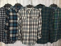 8 Bridesmaid Flannels Getting Ready Mismatched Green Turquoise Blue Teal Plaid Flannels Girls Night Flannel Girl, Mens Flannel Shirt, Plaid Shirts, Flannels, Green Flannel, Oversized Flannel Outfits, Flannel Outfits Summer, Fashion Night, Green Turquoise