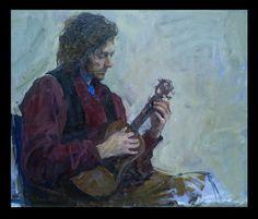 man with ukulele by vlakrisenko on DeviantArt