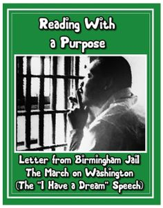 This is the second in a two part series of student reading and Common Core activities to celebrate the life and achievements of Dr. Martin Luther King Jr. This download includes the March on Washington, the Letter From Birmingham Jail, and the Southern Christian Leadership Conference, and it contains 17 pages of student activities.