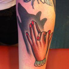 tattoosandtutus:    Josh Howard  @elderly_lady