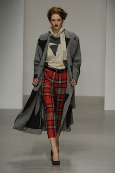 Vivienne Westwood Red Label RTW Fall 2014 [Photo by Giovanni Giannoni]