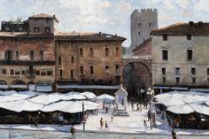 Roberto Tommasi -Piazza delle erbe - Verona.
