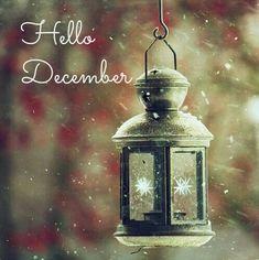 Hello December.... benvenuto dicembre!