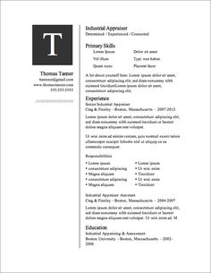 Captivating 12 Resume Templates For Microsoft Word Free Download