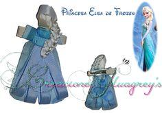 Escultura en cinta de la Princesa Elsa de Frozen!!!
