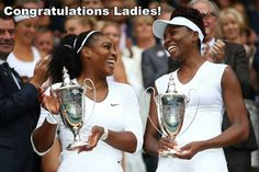 Congrats to the Williams sisters on their 6th Wimbledon doubles title! #BlackGirlMagic TAG and SHARE to show your love. http://on.thegrio.com/29HDUxT
