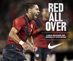 USA Men Soccer - Clint Dempsey #8