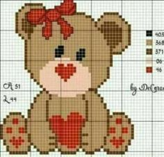 1 million+ Stunning Free Images to Use Anywhere Cute Cross Stitch, Cross Stitch Cards, Cross Stitch Animals, Cross Stitch Designs, Cross Stitching, Cross Stitch Patterns, Baby Sweater Knitting Pattern, Baby Hats Knitting, Plastic Canvas Crafts