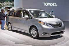 Toyota Sienna.  Once you have two kids and get a vehicle who's doors open with a push of a button, has more cup holders than you can count, and has 2nd row seats that can be moved forward and back so you can reach the kid you need to and keep the one you don't from kicking your seat, you'll agreebthat this is a MUST have.